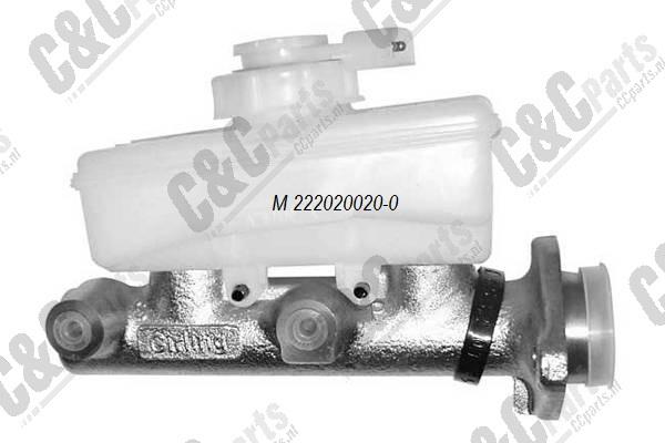 Master brake/clutch cylinder